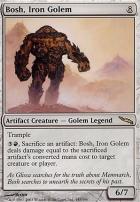 Mirrodin Foil: Bosh, Iron Golem