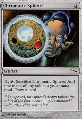Mirrodin Foil: Chromatic Sphere