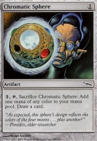 Mirrodin Foil: Chromatic Sphere