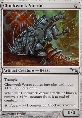 Mirrodin: Clockwork Vorrac