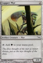 Mirrodin Foil: Copper Myr