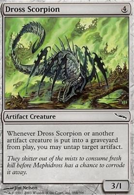 Mirrodin Foil: Dross Scorpion