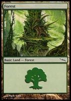 Mirrodin: Forest (303 A)