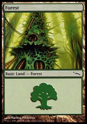 Mirrodin Foil: Forest (305 C)