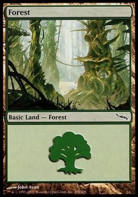 Mirrodin: Forest (306 D)