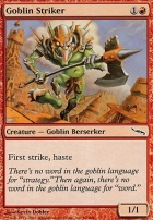 Mirrodin: Goblin Striker