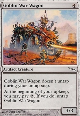 Mirrodin: Goblin War Wagon