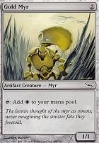 Mirrodin: Gold Myr