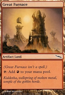 Mirrodin Foil: Great Furnace