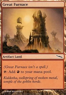 Mirrodin: Great Furnace