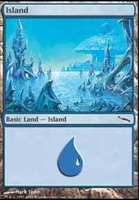 Mirrodin: Island (291 A)