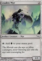Mirrodin Foil: Leaden Myr