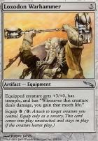Mirrodin: Loxodon Warhammer