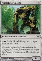 Mirrodin Foil: Malachite Golem