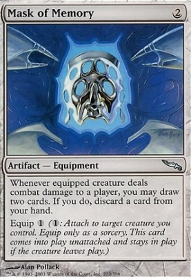 Mirrodin Foil: Mask of Memory