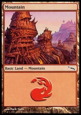 Mirrodin: Mountain (299 A)