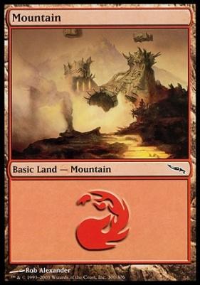 Mirrodin: Mountain (300 B)