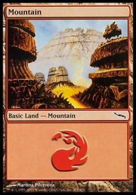 Mirrodin Foil: Mountain (301 C)