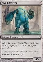 Mirrodin Foil: Myr Enforcer