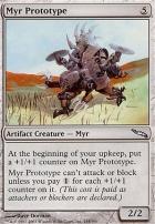 Mirrodin Foil: Myr Prototype