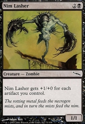 Mirrodin: Nim Lasher