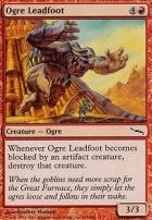 Mirrodin Foil: Ogre Leadfoot