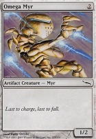 Mirrodin Foil: Omega Myr