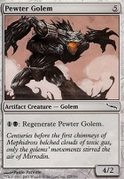 Mirrodin Foil: Pewter Golem