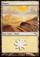 Mirrodin Foil: Plains (287 A)