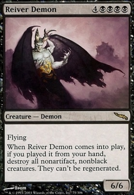 Mirrodin: Reiver Demon