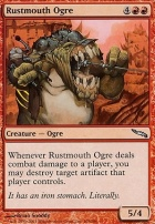 Mirrodin: Rustmouth Ogre