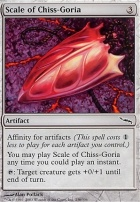 Mirrodin Foil: Scale of Chiss-Goria