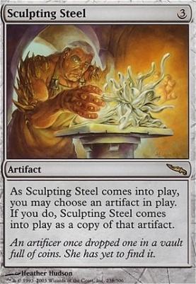 Mirrodin: Sculpting Steel