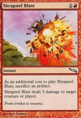 Mirrodin: Shrapnel Blast