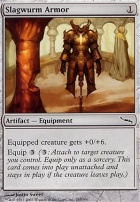 Mirrodin Foil: Slagwurm Armor