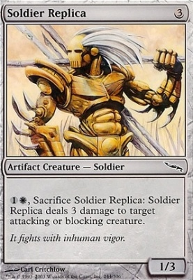 Mirrodin: Soldier Replica