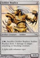 Mirrodin: Soldier Replica