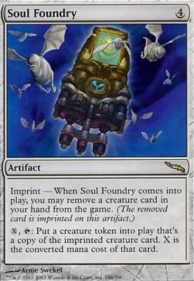Mirrodin Foil: Soul Foundry