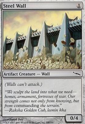 Mirrodin: Steel Wall