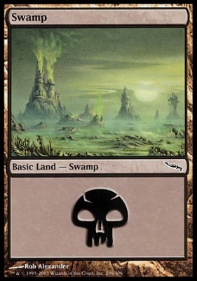 Mirrodin: Swamp (296 B)
