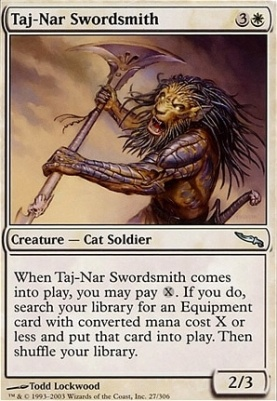 Mirrodin: Taj-Nar Swordsmith