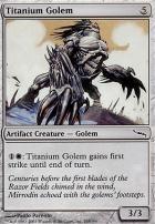 Mirrodin: Titanium Golem