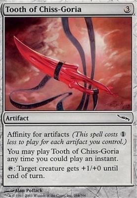 Mirrodin: Tooth of Chiss-Goria