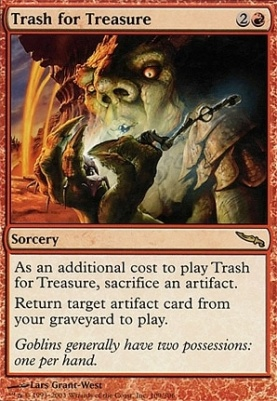 Mirrodin: Trash for Treasure