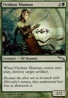 Mirrodin Foil: Viridian Shaman