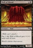 Mirrodin Foil: Wall of Blood