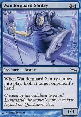 Mirrodin: Wanderguard Sentry