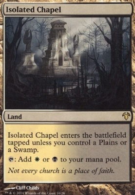 Modern Event Deck: Isolated Chapel