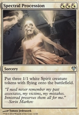 Modern Event Deck: Spectral Procession