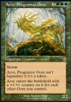 Modern Horizons 2 Variants Foil: Aeve, Progenitor Ooze (Retro Frame)